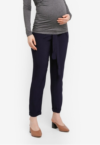 Envie De Fraise navy Maternity Baptiste Pants 940BFAA18A1725GS_1