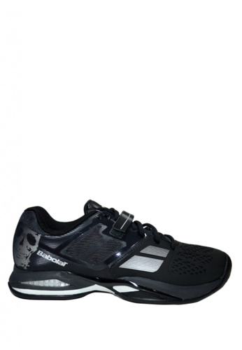 Babolat black Propulse All Court Wider Men's Tennis Shoes (Skull) BA220SH50MCRPH_1