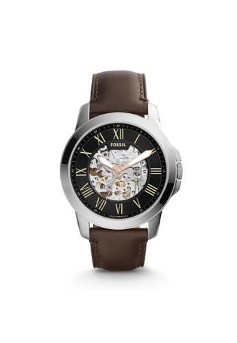 Fossil GRANT機械男錶 ME3100, 錶類,esprit tst 紳士錶