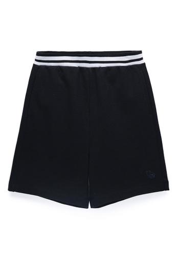 Kingkow navy Kingkow Logo Cotton Shorts 2.5-12 years B7C52KA64DFA10GS_1