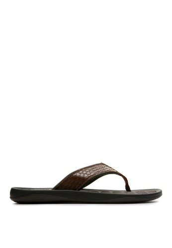 Kenneth Cole New York brown GO FOUR-TH - Thong Sandals KE615SH34ADPMY_1