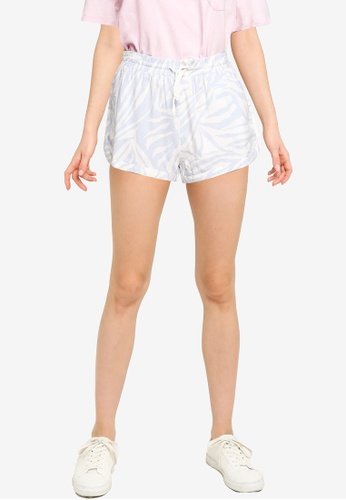 Billabong white and blue Road Trippin Shorts 24A29AAAE68DF7GS_1
