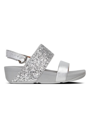 FitFlop silver Fitflop Rosa Glitter Back-Strap Sandal Silver 23635SH274B70AGS_1