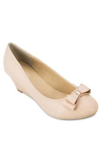 Isadora 蝴蝶結楔形鞋, 女zalora 心得鞋, 厚底楔形鞋