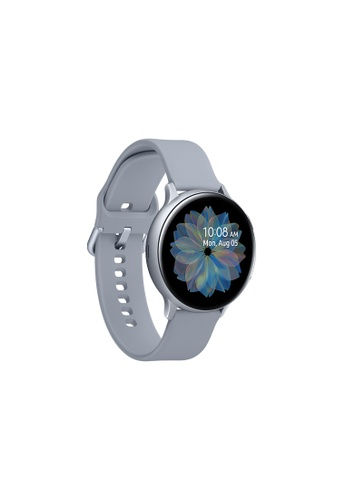 Samsung silver Samsung Galaxy Watch Active2 (44mm) Aluminium Bluetooth - Cloud Silver. 5F949HL6019699GS_1