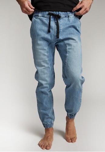 Cotton on blue Drake Cuffed Pant A3687AA0002EB0GS_1