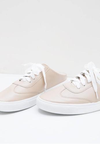 Jual Berrybenka Label Rivva Octo Sneakers KHAKI Original