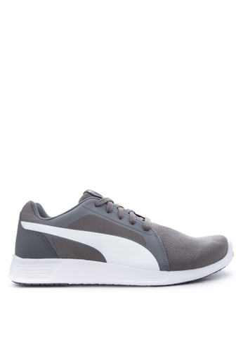 Puma white and purple ST Trainer Evo Training Shoes PU758SH65TUCPH_1