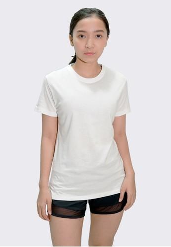 Trijee white Trijee Women Short Sleeve Tee Callum - White F4089AA61E0D37GS_1