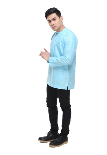 Amar Amran blue Kurta Al Amin 2.0 4140FAAEAA6905GS_1