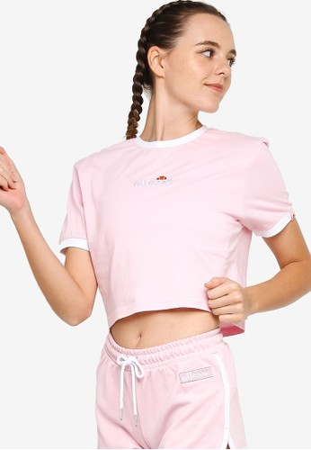 ellesse pink Derla Crop T-Shirt ADA12AA25E9780GS_1
