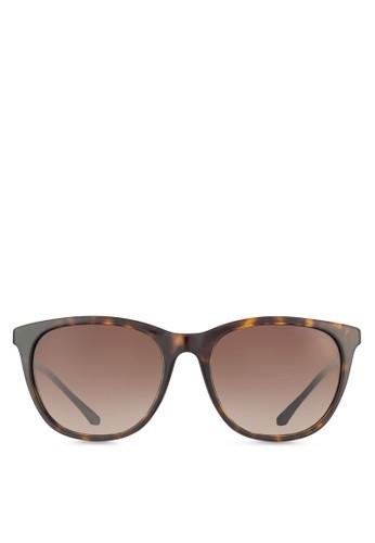 基本zalora 衣服評價款休閒圓框太陽眼鏡, 飾品配件, 飾品配件