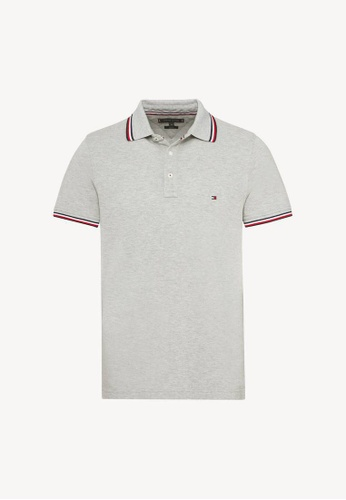 23870165 Buy Tommy Hilfiger Tommy Tipped Slim Polo Online | ZALORA Malaysia