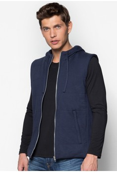 Wt - Padded Knit Gilet