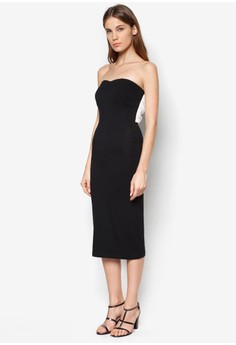 Back Large Bow Dress