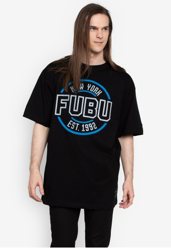 af8807a7930f3 Shop FUBU Roundneck Loose Fit T-Shirt Online on ZALORA Philippines