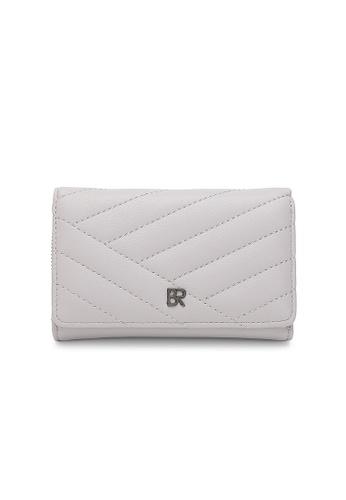Bethany Roma beige Bethany Roma Medium Size Wallet - Beige 5386FACDF9EB49GS_1