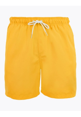 MARKS & SPENCER yellow M&S Quick Dry Swim Shorts BC7E9US4660F97GS_1
