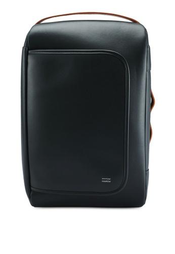 Rawrow grey 3 Way 191 Microfiber Backpack 7EBFBACE575BF7GS_1