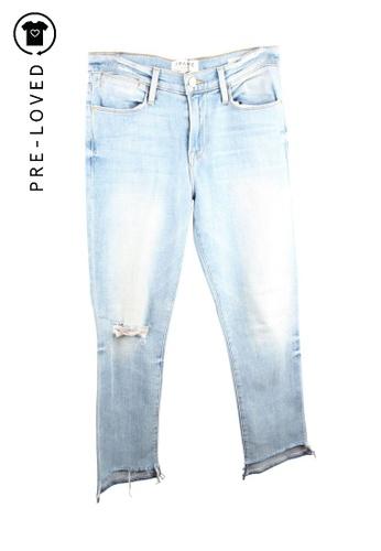 Frame Denim blue Pre-Loved frame denim Ripped Denim Jeans 2C740AAA0C1BC4GS_1