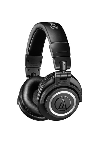 Audio Technica black Audio Technica ATH-M50x Wireless Professional Studio Monitor Headphones - Black 77F41ESD7CB133GS_1