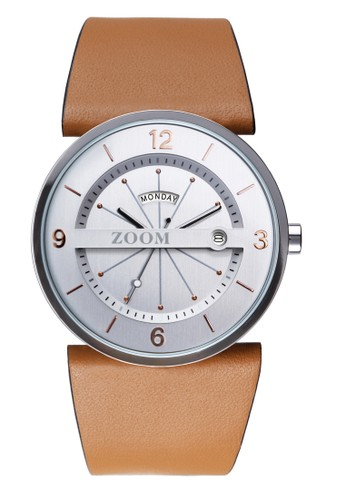 Zoom brown Casual Men's Watches ZM 3660M.2522 80561ACDD2C35CGS_1