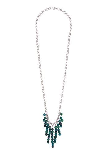 TEMU 串珠墜飾esprit 價位項鍊, 飾品配件, 飾品配件
