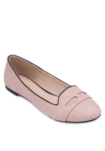 素色便士樂福鞋zalora退貨, 女鞋, 船型鞋