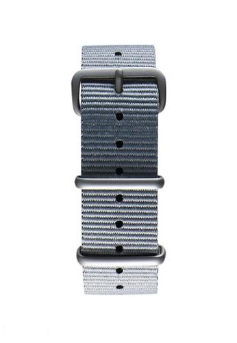NATO霧面銀灰色錶帶, 錶類, 其它esprit sg錶帶