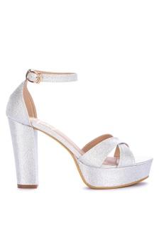 448aab20d57 Shop Huxley Lekasha High Heels Sandals Ankle Strap Online on ZALORA ...