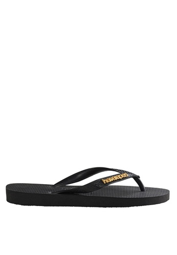 dcf42c55993e4 Shop Havaianas Logo Metallic 17 Flip Flops Online on ZALORA Philippines