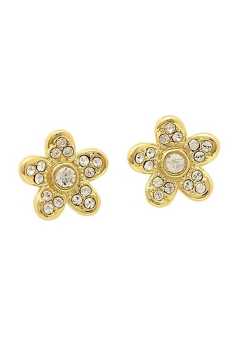 Marc Jacobs gold Marc Jacobs Flower Studs Earring Gold M0012401 C0992AC0D2345EGS_1