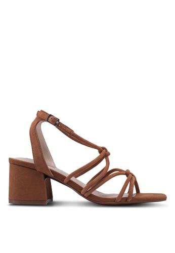 4c6cf38162c Sydney Tubular Heeled Sandals