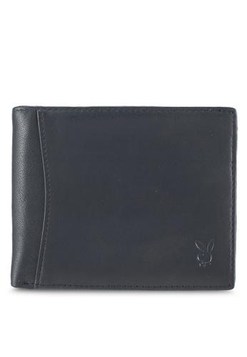 Playboy black Playboy Genuine Leather Wallet AAE1EAC67A25C8GS_1