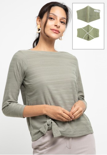 Expand green Avasa T-Shirt 17C4FAA464117BGS_1