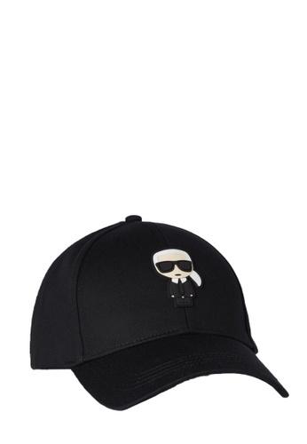 KARL LAGERFELD black K/Ikonik Cap 278D1AC49D659DGS_1