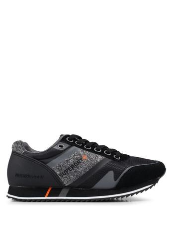 Superdry black Fero Runners 131ADSHEFEA4C8GS_1