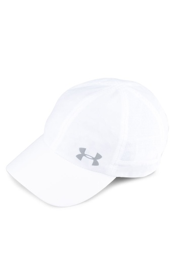Under Armour white and green UA Fly By Cap UN337AC0SU5HMY_1