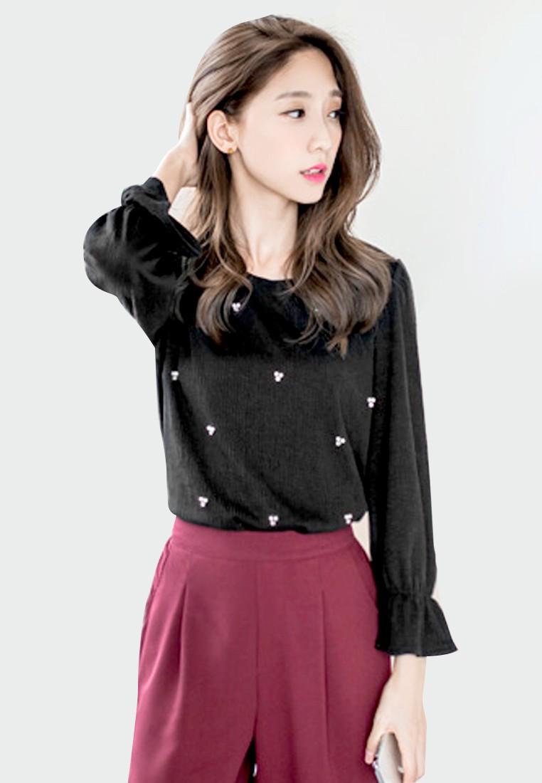 Simple Delight Embellished Top