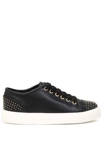London Rag black Casual Studded Sneakers SH1717 AB7F3SH3D04FA6GS_1