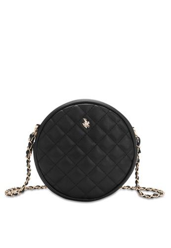 Swiss Polo black Casual Crossbody Bag 1CA93AC38DEF78GS_1
