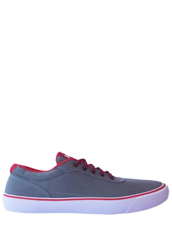 Kenz red and grey Kenz Classic - Abu-abu-Merah KE298SH29PGWID_1