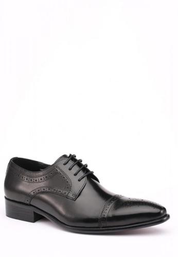 Kings Collection black Orazio Oxford Shoes KI877SH51ZGEPH_1
