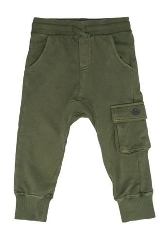 FOX Kids & Baby green Casual Pants 463FEKAAC50257GS_1