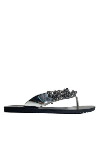 Twenty Eight Shoes 珠飾拖鞋 VS819 ED4D5SH3718237GS_1