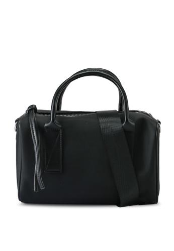 NUVEAU black Oxford Nylon Convertible Boston Bag CE625AC2036F57GS_1