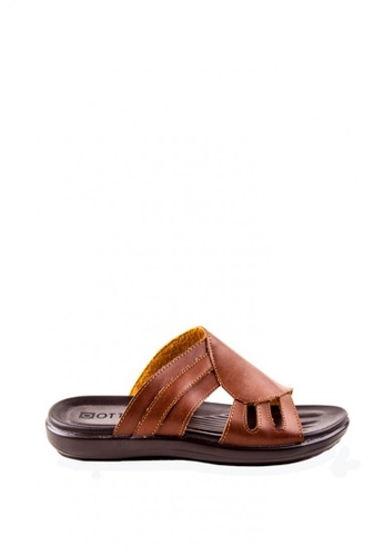 Otto brown Slide Sandals OT407SH0JRVVPH_1