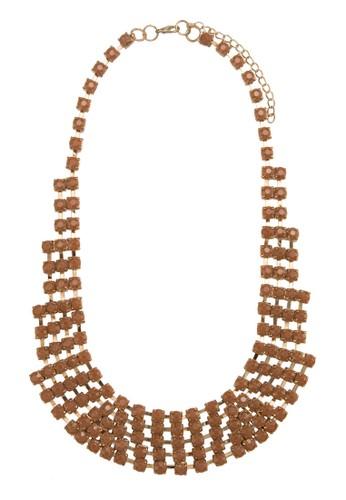 Acrylic Cup Chain Necklesprit holdingsace, 飾品配件, 項鍊