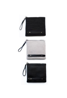 The Clutch Collector: Set of 3 Square Clutches