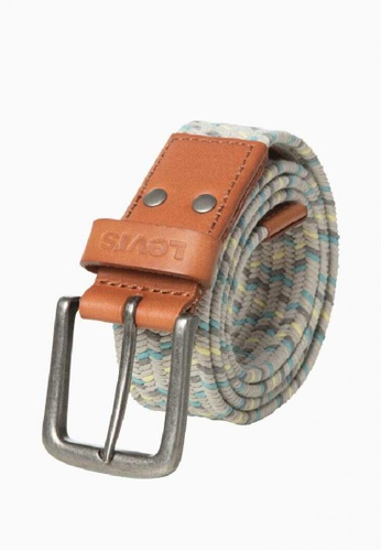 Levi's grey Levi's Armstrong Stretch Belt F8DF7ACBBBEE6EGS_1